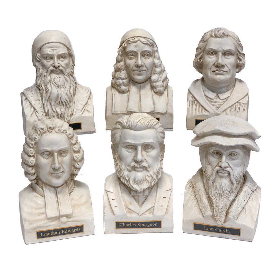 Theologian Statues White - Complete Set