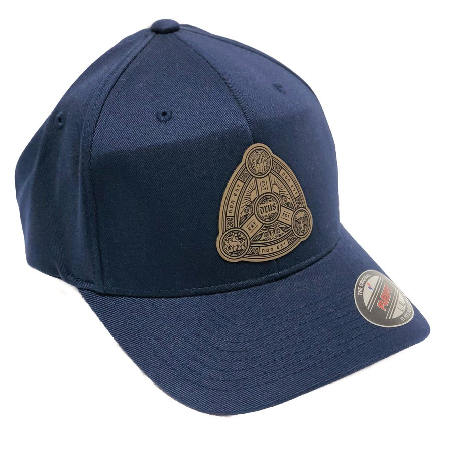 Trinity Patch Fitted Hat