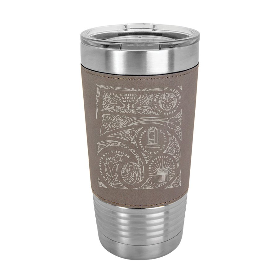Five Points 20oz Leather Tumbler