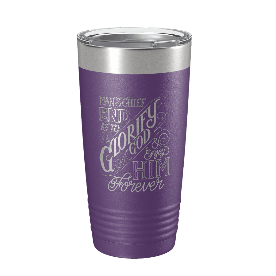 The Chief End of Man 20oz Insulated Tumbler