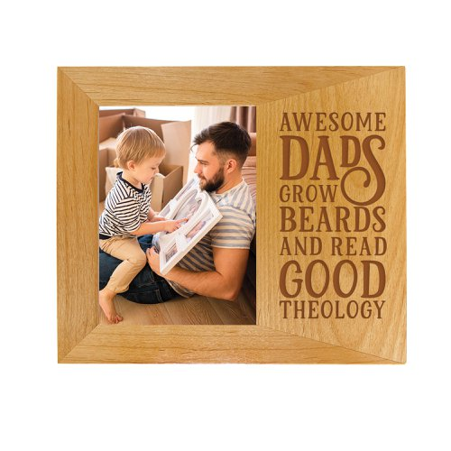 Awesome Dads Picture Frame