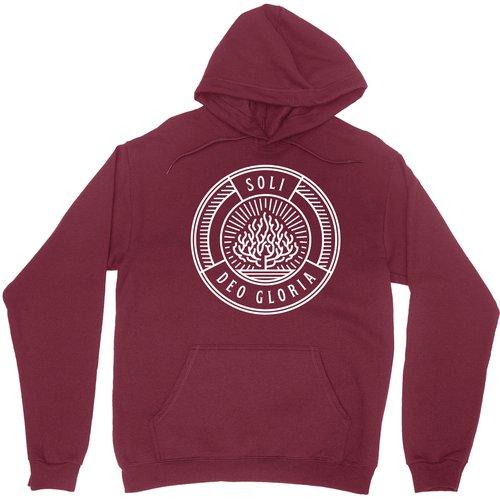 Soli Deo Gloria Badge Pullover Hoodie Sweatshirt