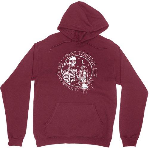 Post Tenebras Lux Pullover Hoodie Sweatshirt