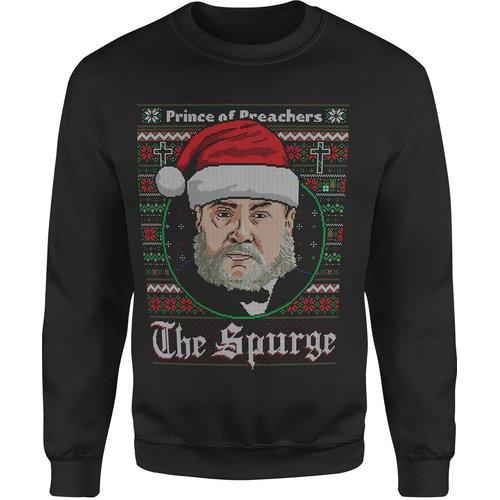Charles Spurgeon 'The Spurge' Ugly Christmas Sweatshirt